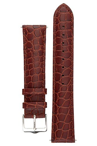 signature-siena-in-coffee-22-mm-short-watch-band-replacement-watch-strap-genuine-leather-silver-buck