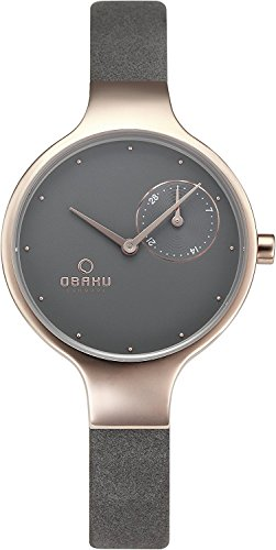 OBAKU watch ENG PEBBLE date V201LDVJRJ Ladies