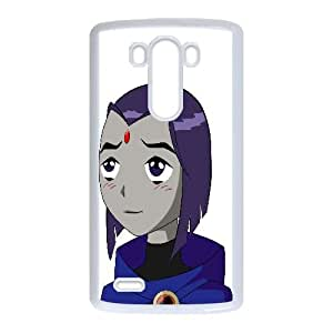 Raven Teen Titans Cartoon LG G3 Cell Phone Case White persent xxy002_6067706