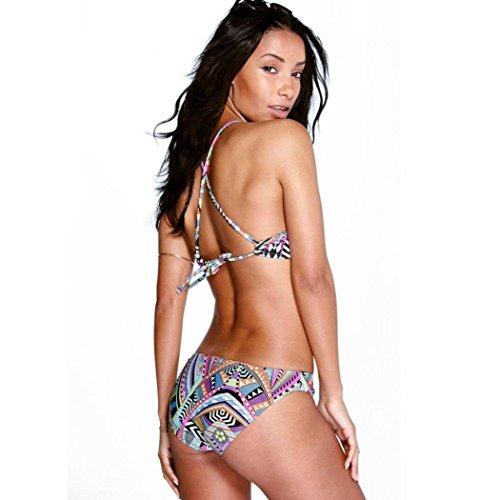 Bañadores Deportivas Mujer,Xinan Impresión del Bañador Brasileño de Baño Bikini
