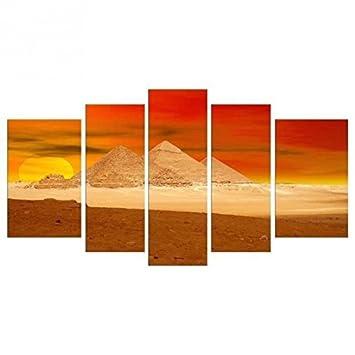 Amazon.de: HEXOA bp5028 Wanddekoration Bild Mehrfarbig - 110 x 60 cm