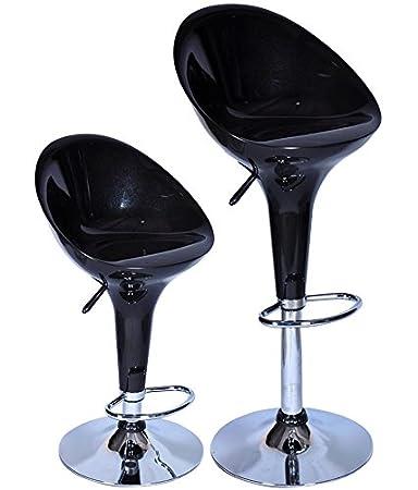 MBTC Kosy HB Bar stool in Black ( set of 2 piece )
