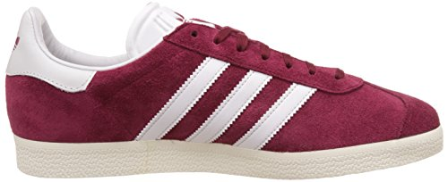 Adidas Unisex Gazelle Casual Sneakers Collegiaal Bordeaux Rood / Wit / Goud Metallic