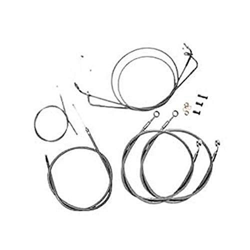 BARON CUSTOM ACCESSORIES BARON CABLE/BRAKELN KIT SS - Custom Cable Accessories Baron