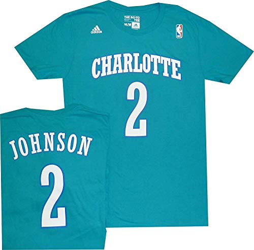 adidas Charlotte Hornets Larry Johnson 1992 Throwback Shirt (XL)