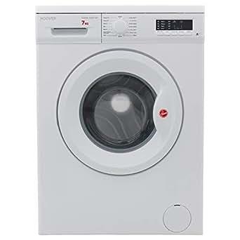 Hoover 7 Kg 1000 RPM 15 Programs Front Load Washing Machine, White - HWM-1007-W