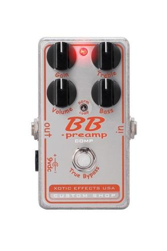 Xotic Effects - Xotic Effects BB-Preamp/Comp Effect Pedal