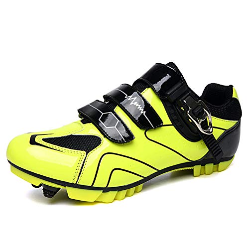 Gogodoing Men's MTB Cycling Shoes Outdoor Sport Bicycle Shoes Self-Locking Professional Racing Road Bike Shoes Mountain…