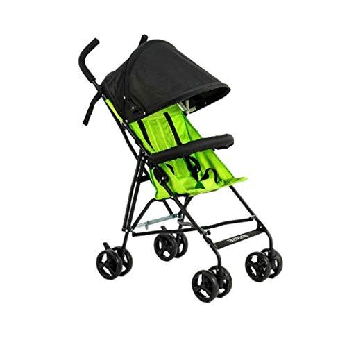 Stroller Portable Anti-Humpback Stroller Lightweight Umbrella Strollers Buggies Baby Travel Folding Pushchairs Prams…