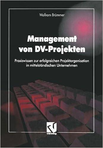 Book Management von DV-Projekten