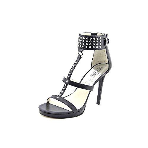 (Michael Michael Kors Women's Celena Sandal Black Vachetta Platform 9 M)