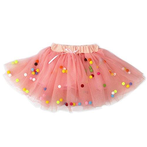 [KAKAKI Infinity Baby Girls TUTU Dress Multi-Layer Tulle Balls Dress for Toddler Girls(Pink,110)] (Tutu For Toddler)
