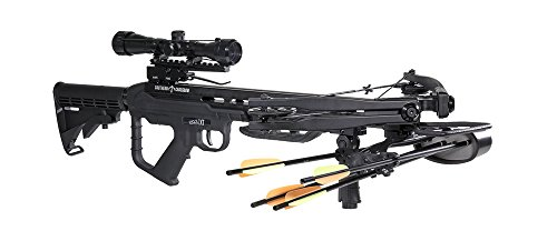 Southern Crossbow Risen XT 350 Crossbow Kit, Black (180 Crossbow Lb Hunting)
