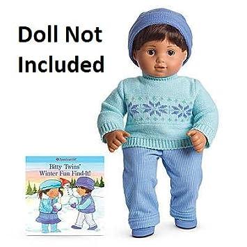 Amazon.com: American Girl Bitty Baby Twin boy Fair Isle Sweater ...