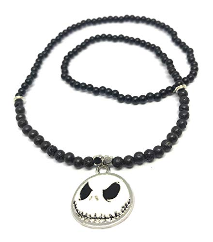 Chavarrieta Jack Skellington Nightmare Before Christmas Necklace -