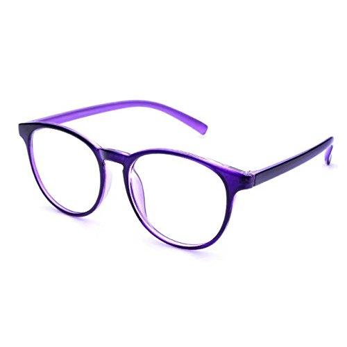 426079a8079 Amazon.com  Jcerki Purple frame Bifocal Reading Glasses 2.50 Strengths Men  Women fashion Eyeglasses  Health   Personal Care