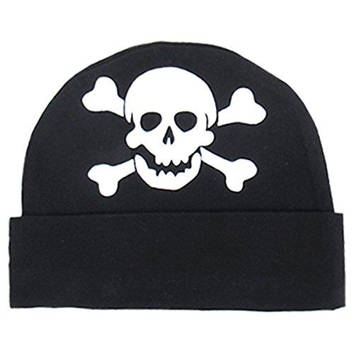 Boys' Funny Skull Hats (Skull, 0-12 Months) ()