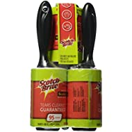 Scotch-Brite Lint Roller Combo Pack, 5-Rollers, 95-Sheets/Roller (475 Sheets Total)