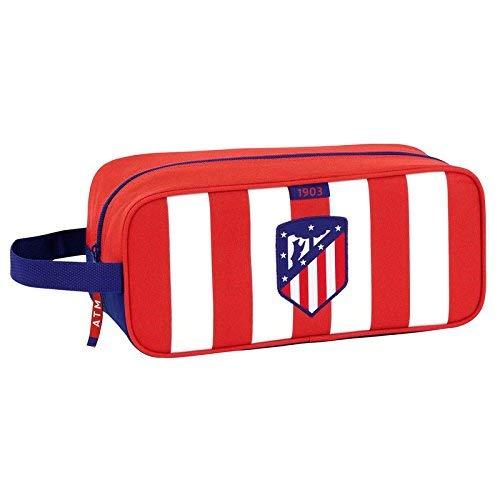 Safta Zapatillero Atlético De Madrid Oficial Zapatillero Mediano 340x140x150mm