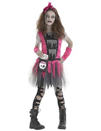 Big Girls' Zombie Costume - Large