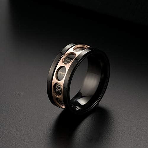 YAZILIND Jewelry Gothic Vintage Wild Titanium Steel Fashion Curb Link Chain Bracelet for men