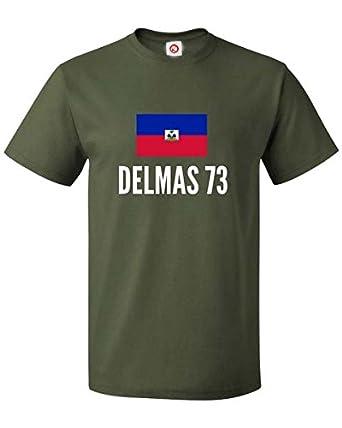 T Shirt Delmas 73 City Verde Amazon It Abbigliamento