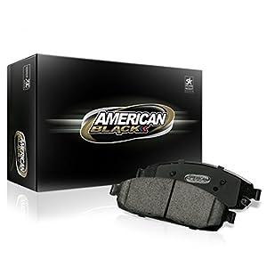 American Black ABD1597C Professional Ceramic Front Disc Brake Pad Set BMW 528i 14-16/535d/535i 11-16/640i 12-17/640i Gran Coupe/640i xDrive/ActiveHybrid 5- OE Premium Quality - Perfect fit