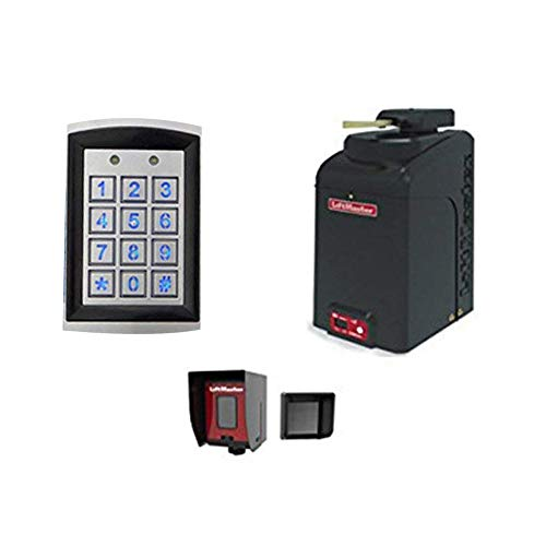 (LiftMaster RSL12U Residential/Light Commercial Slide Gate Operator - Included Liftmaster 828LM Internet Gateway & Free RNT-230SADK Weatherproof Keypad Prox Reader 1000+ Users)