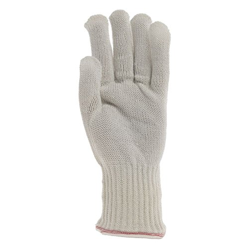 Whizard Knifehandler Cut-Proof Gloves ANSI Level 5 Size Large Natural by TUCKER SAFETY PRODUCTS INC