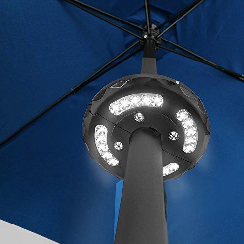 Flexzion Patio Umbrella Light Illuminating