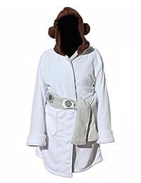 Star Wars Princess Leia Women's Fleece Bathrobe