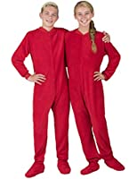 Footed Pajamas - Heatwave Kids Chenille