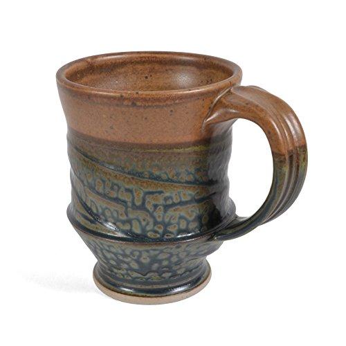 (Royce Yoder Pottery Mug, Tan/Ash)