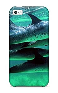 For Iphone 5c Fashion Design Dolphins Case-SbdtbFl7805TzEcv