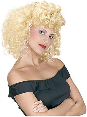 Horror-Shop 50s peluca rubia: Amazon.es: Juguetes y juegos