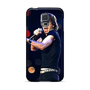 Shock Absorption Cell-phone Hard Cover For Samsung Galaxy S5 With Custom Nice Rolling Stones Pictures KerryParsons