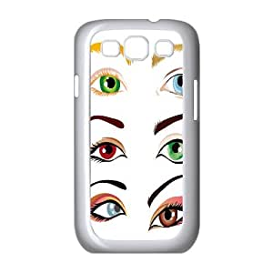 DIY Samsung Galaxy S3 I9300 Case, Zyoux Custom Cheap Samsung Galaxy S3 I9300 Cell Phone Case - Eye