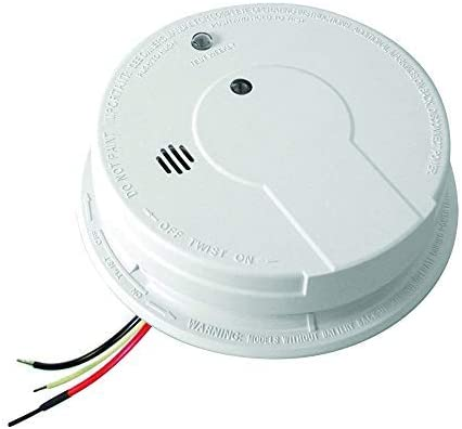 Kidde I12040 Hardwired Smoke Alarm Battery Backup Interconnectable Ionization