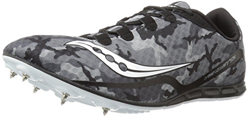Saucony Men's Vendetta Track Spike Racing Shoe Black/White buy cheap great deals clearance pick a best clearance recommend new cheap pay with paypal 5M8PD