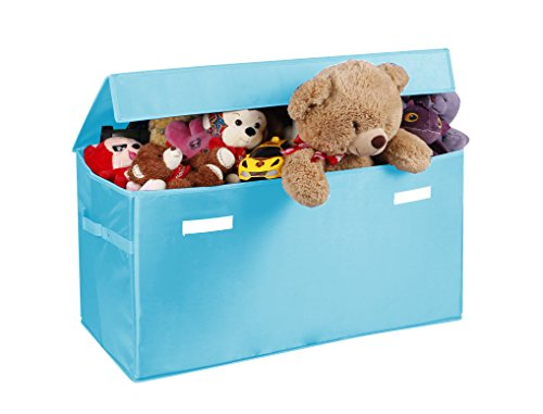 Cute Animal Collapsible Toy Storage Organizer Folding: Collapsible Toy Chest For Kids (Large) Storage Basket W