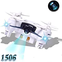 2.4G 4CH 6-Axis FPV RC Drone, Sunhouse Portable Mini Quadcopter Helicopter With 3.0MP Camera (Black)