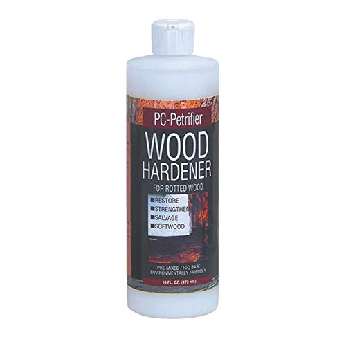 PC Products PC-Petrifier Water-Based Wood Hardener, 16oz, Milky White 164440