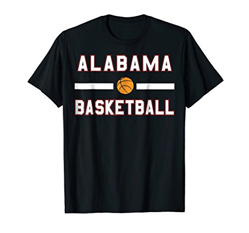 Alabama Basketball Backboard USA-NBA T-Shirt