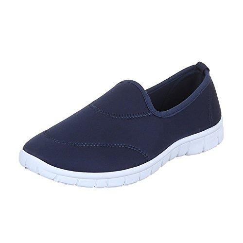 Ital-Design - Zapatos Mujer Azul - azul oscuro