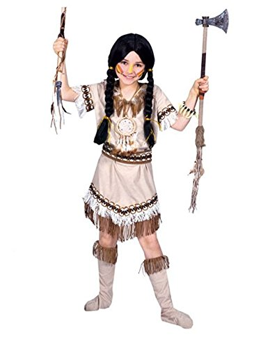 Running Bear Princess Costumes (Running Bear Indian Princess Kids Costume)