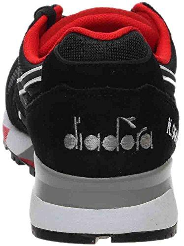 Mens Red Black Diadora Ferrari NYL N9000 Sneaker II FqRTBxz