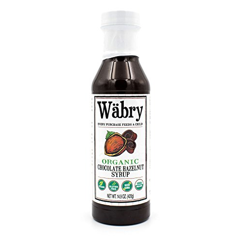 Wäbry Organic Syrup 14.9 oz (Chocolate Hazelnut) BPA-Free Plastic Bottle ()