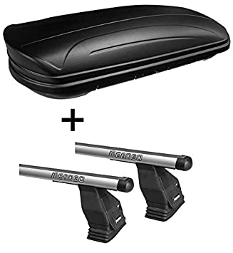 Aluminium Dachtr/äger Aurilis Original f/ür Mercedes CLA Shooting Brake ab 2015 Dachbox VDPMAA320 320Ltr abschlie/ßbar schwarz matt 5T/ürer