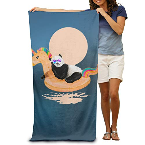 Sakanpo Bath Towel - Unicorn Panda Lightweight Large Swim Beach Towels