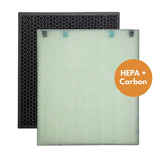 Replacement Filter Pack Compatible with Bissel 2521, 2520 Filters for air400 Air Purifiers